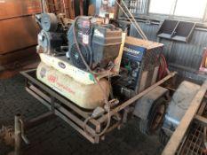 Lot Comprising of Cary On Trailer, w/ Miller Trailblazer 302 CC/CV, AC/DC Welding Power Supply 11000