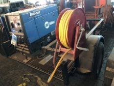 Lot Comprising of Maxey Trailer, w/ Miller Bobcat 225 AC/DC Welding Power Supply 11000 W