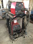 Lincoln Invertec v350 Pro MIG Welder, s/n U1120513368, w/ Wire Feed (Location: Learning Center)