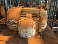 US ELECTRIC MOTORS 125 HP Electric Motor (Location: Motor Warehouse)