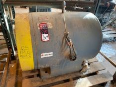 WAGNER 125 HP Electric Motor (Location: Motor Warehouse)