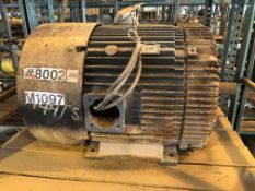 RELIANCE 125 HP Electric Motor (Location: Motor Warehouse)