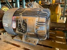 TECO WESTINGHOUSE 125 HP Electric Motor (Location: Motor Warehouse)
