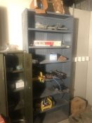 Maintenance Crib Rack w/ Contents, (Location:Automotive)