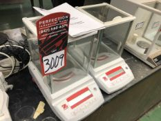 Lot Comprising of (2) OHAUS Pioneer Analytical Balance Scales (Location: Metallurgical Lab)