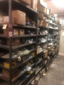 Maintenance Crib Rack w/ Contents, Including Air, Oil, and Compressor Filters (Location: