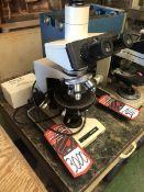 OLYMPUS BH-2 Binocular Head Microscope, w/ WHK 10x/20 Eyepieces and DPLAN 4x, 10c, 100x Oil