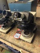 BAUSCH & LOMB Balplan Binocular Head Microscope, w/ 10X W.F. Eyepieces, and 4x, 10x, 40x, 100x Oil