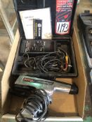 Lot Comprising of (1) NAPA Balkamp Professional Series 700-1513 Digital Dwell-Tach-Magnetic Timing