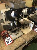 BAUSCH & LOMB Balplan Binocular Head Microscope, w/ 10X W.F. Eyepieces, and 4x, 10x, 20x, 40x