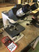 AO One-Ten Binocular Head Microscope, w/ BAUSCH & LOMB 10X W.F. Eyepieces, and .10 160/-, 40/.66,