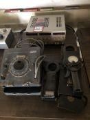 Lot Comprising of (1) FOXBORO Magnetic Flow Calibrator, (2) WESTON Amp Probes, and (1) TT QUADMODE