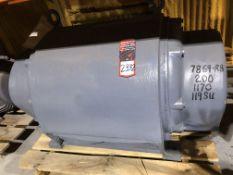 200 HP Electric Motor (Location: Motor Building)