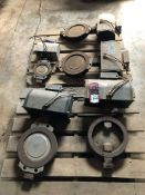 Lot of PENTAIR Double Acting Viton Pneumatic Positioners (Location: Motor Warehouse)