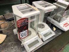 Lot Comprising of (1) METTLER TOLEDO AS104 Analytical Balance Scale, and (1) METTLER TOLEDO AS204