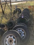 Large Lot of Assorted Used Tires (Location: TireRepair Shop)