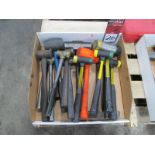 Lot of Assorted Hammers