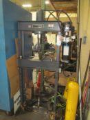 25 Ton Dura Press #25DA Hydraulic H-Frame Shop Press, S/N 1100310
