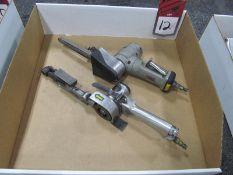 (2) Pneumatic Belt Sanders, (1) Jet #JSM-620, (1) #M #28366