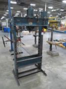40 Ton Nugier #H40-14 Hydraulic H-Frame Shop Press, S/N 4862103
