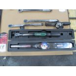 Lot of Assorted Torque Wrenches