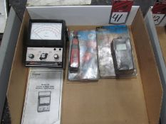 (3) Electrical Tools, (1) Simpson #228 Current Leakage Tester, (1) Ideal Punchmaster II Punch Down