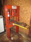 20 Amrox Hydraulic H-Frame Shop Press