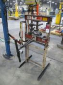 10 Ton OTC Power Team #SPF-10 Hydraulic H-Frame Shop Press, S/N 1187