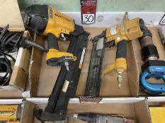 Lot of (2) BOSTITCH Pneumatic Staple Guns