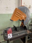 """RIDGID R41421 14"""" Abrasive Cutoff Saw, s/n BX15381D2120404"""