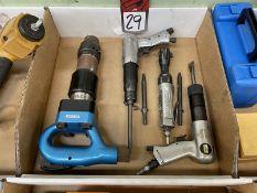 Lot Comprising Assorted Pneumatic Tools