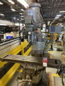 Bridgeport Series 1 Vertical Mill, 9x48 Tbl, 2 HP , Var Speed, Power Table, DRO, s/n BR243183
