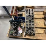 Lot of Vertical Mill Tooling, Clamps and Angle Plates