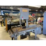 Marvel Series 8 Vertical Bandsaw, Power Feed, Coolant and Chip Pan. s/n 822034-W asset # 10037583