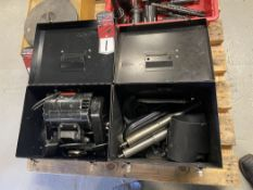 Dumore Tool Post Grinder w/ Extra Spindles