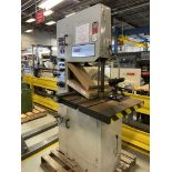 """MSC 0951 4647 Vertical Bandsaw, 19"""" Throat, 16"""" Max Height, 29x27 Tilting Table, 1"""" Blade, Blade"""