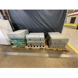 Lot of (7) Electrical Cabinets new not installed with Components