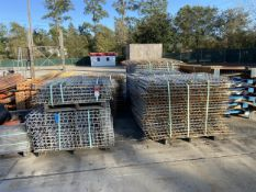 (8) Skids of Waterfall Decking for Pallet Racks