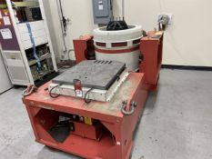 "LDS Vibration Table with Isolation Control, Slip Table Control, 23.5"" x 28"" Platen, 12"" Diameter"
