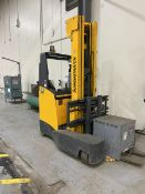 2015 Jungheinrich ETV Q25 4410 Lb Multi-Directional Electric Reach Type Forklift with Battery, s/n