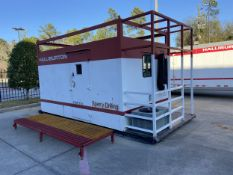 Skid Mounted 20' Portable Office with Power Connect & Air Conditioning