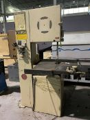 DO-ALL 2013-0 Vertical Bandsaw, (Note: This item was not owned or related to the Pamarco Faciity.
