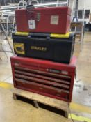 Lot of (3) Tool Boxes