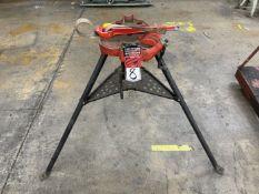 RIDGID No 450 Tri-Stand w/ Strap Wrench
