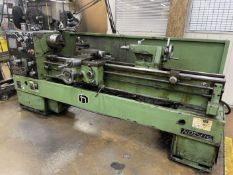 """NARDINI ND-1560E Lathe, 15"""" Swing, 60"""" Between Centers, 8"""" 3-Jaw Chuck, Tool Post, Tailstock, 25-"""