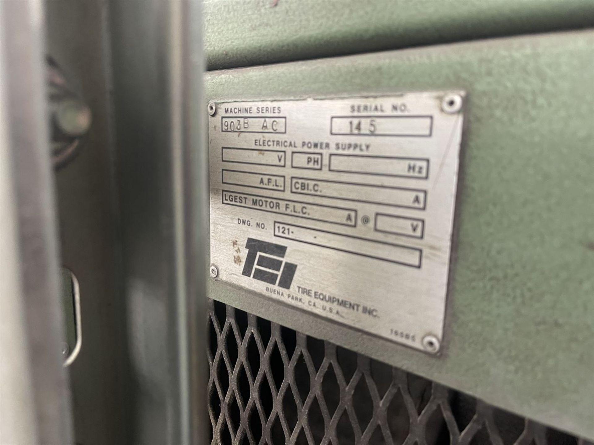 "TEI 903B AC 3"" Short Barrel Extruder, s/n 145, 30 HP - Image 6 of 6"