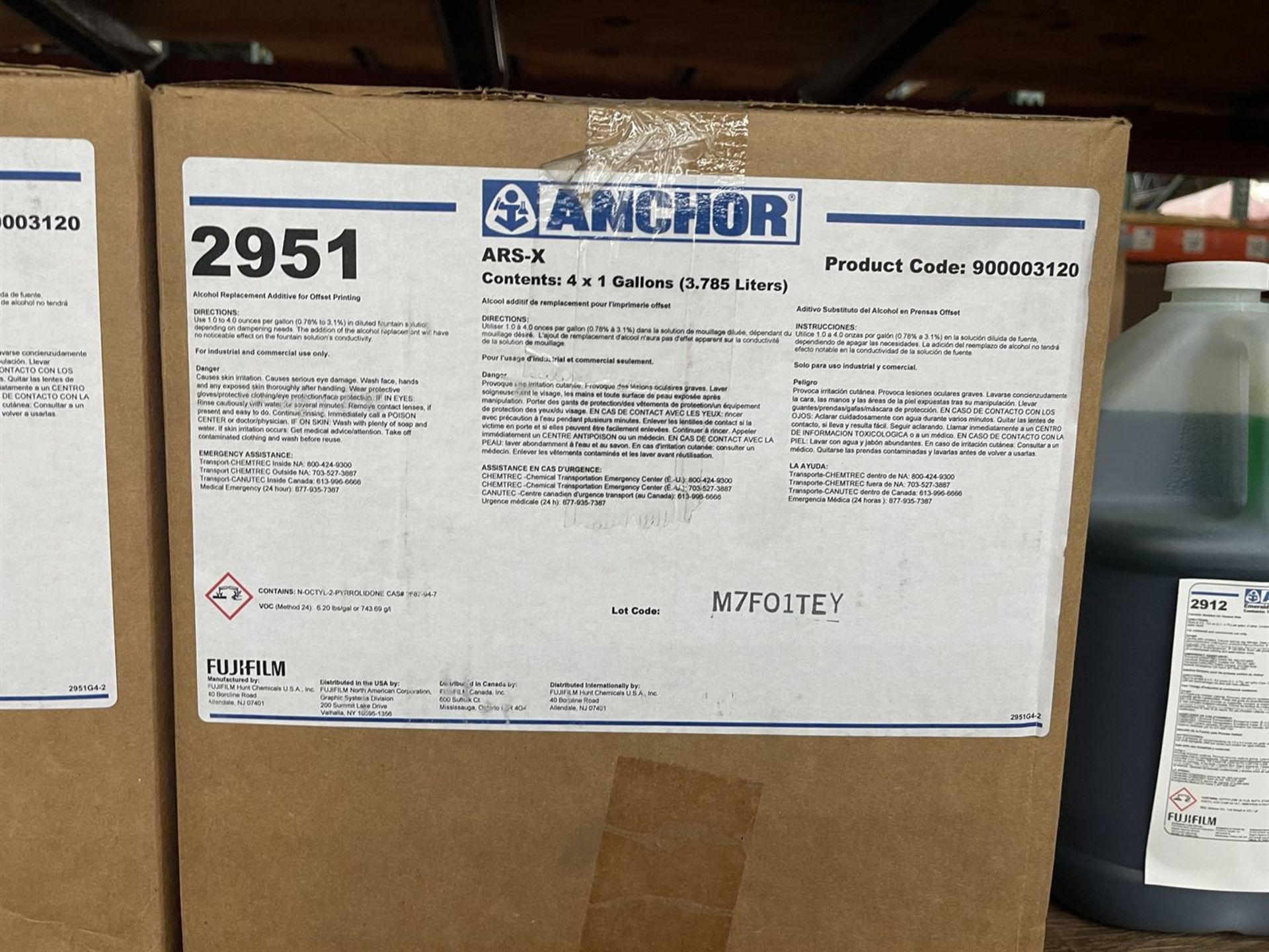 Lot of Assorted Printing Chemicals Including CMP Syn-Tac Pressroom Maintenance Kits, MP 2000 Poly - Image 4 of 5