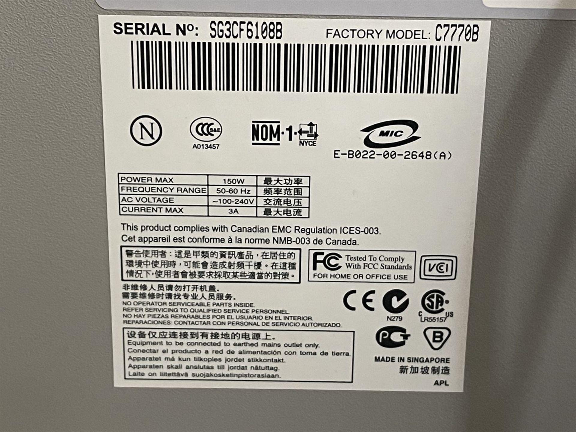 HP DesignJet 500ps Large Format Printer, s/n SG3CF66108B - Image 3 of 3