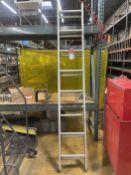 KELLER 3116 16' Aluminum Extension Ladder