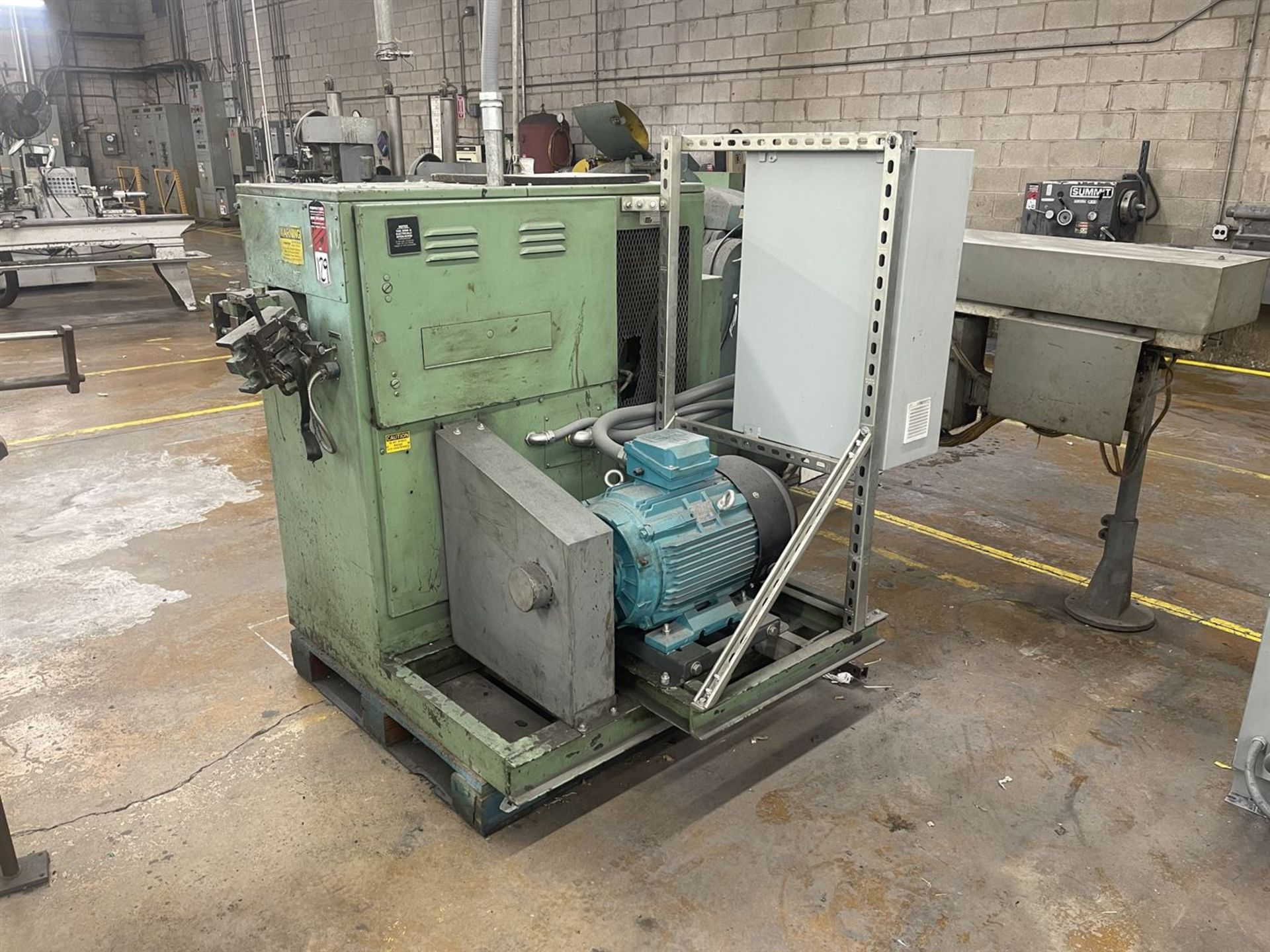 "TEI 903B AC 3"" Short Barrel Extruder, s/n 145, 30 HP - Image 2 of 6"